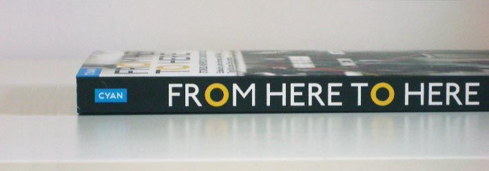 From Here to Here photo of book spine